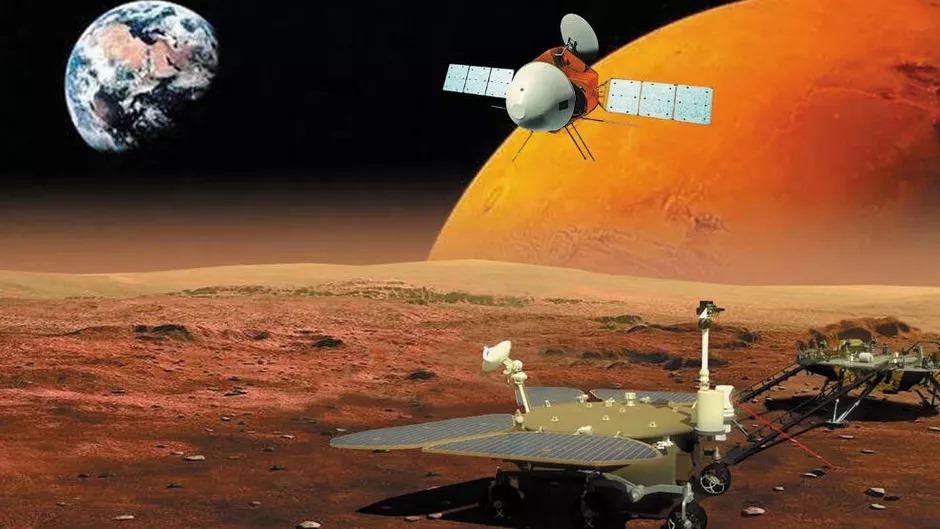 UN PAYS EN ORBITE DE MARS POUR LA PREMIÈRE FOIS