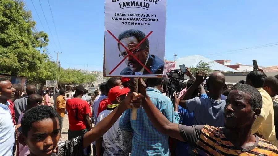 CHAOS DANS LA CAPITALE SOMALIENNE