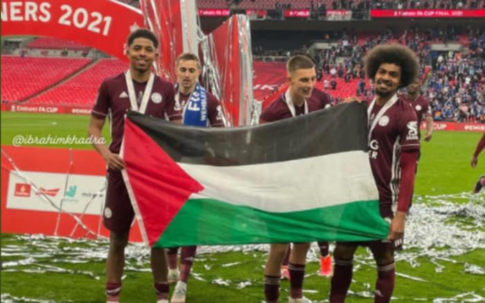 PALESTINE, DES FOOTBALLEURS PRENNENT POSITION